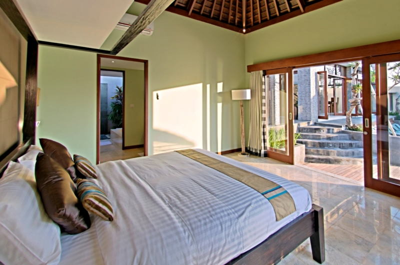 Bedroom with View - Jabunami Villa - Canggu, Bali