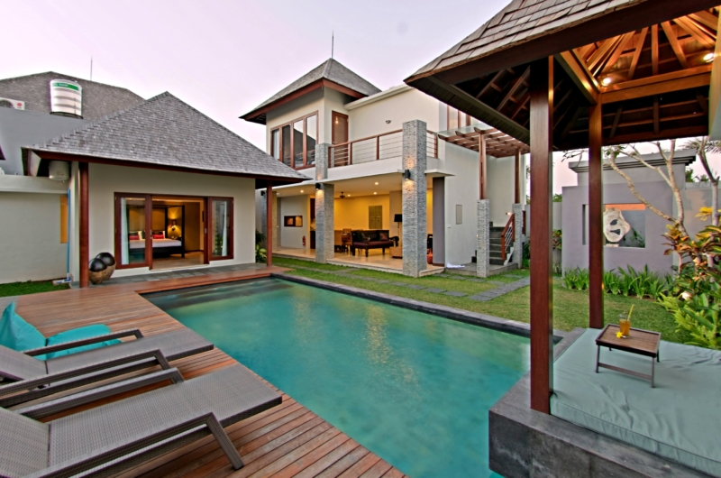 Pool Side Loungers - Jabunami Villa - Canggu, Bali