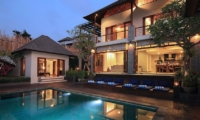 Night View - Jabunami Villa - Canggu, Bali