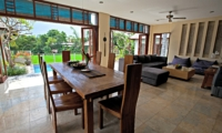 Living and Dining Area - Jabunami Villa - Canggu, Bali