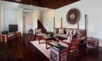 Living Area with TV - Javana Royal Villas - Seminyak, Bali