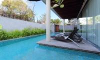 Sun Loungers - Javana Royal Villas - Seminyak, Bali