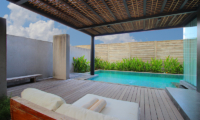 Pool Side - Javana Royal Villas - Seminyak, Bali