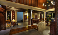 Indoor Seating Area - Javana Royal Villas - Seminyak, Bali