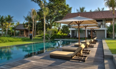 Pool Side Loungers - Jeeva Saba Estate - Gianyar, Bali