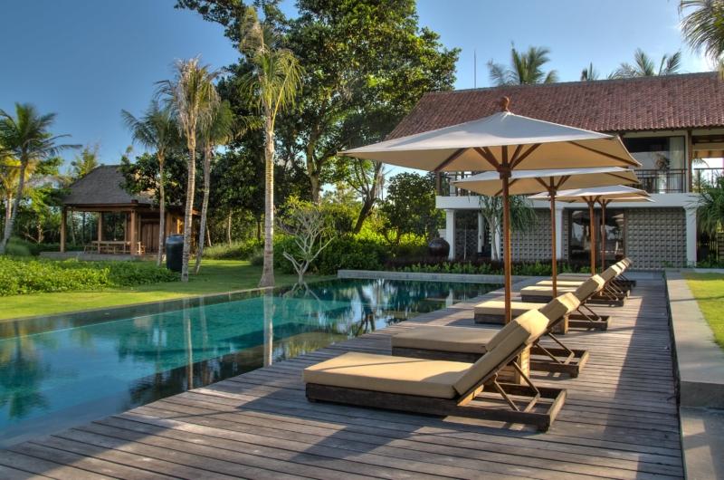 Pool Side Loungers - Jeeva Saba Estate - Gianyar, Bali