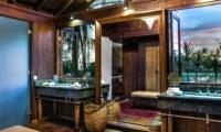 En-Suite Bathroom with View - Jeeva Saba Estate - Gianyar, Bali