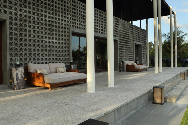 Outdoor Seating Area - Jeeva Saba Estate - Gianyar, Bali