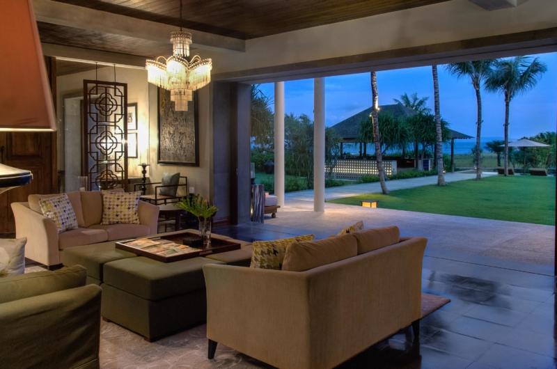 Living Area with View - Jeeva Saba Estate - Gianyar, Bali