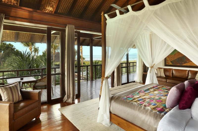 Bedroom and Balcony - Jeeva Saba Estate - Gianyar, Bali