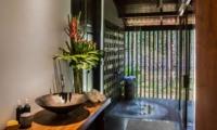 Bathroom with Shower - Jeeva Saba Estate - Gianyar, Bali