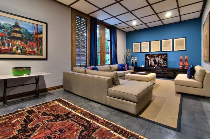 Lounge Area with TV - Jeeva Saba Estate - Gianyar, Bali