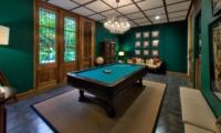 Indoor Billiard Table - Jeeva Saba Estate - Gianyar, Bali