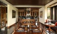 Indoor Dining Area - Jeeva Saba Estate - Gianyar, Bali