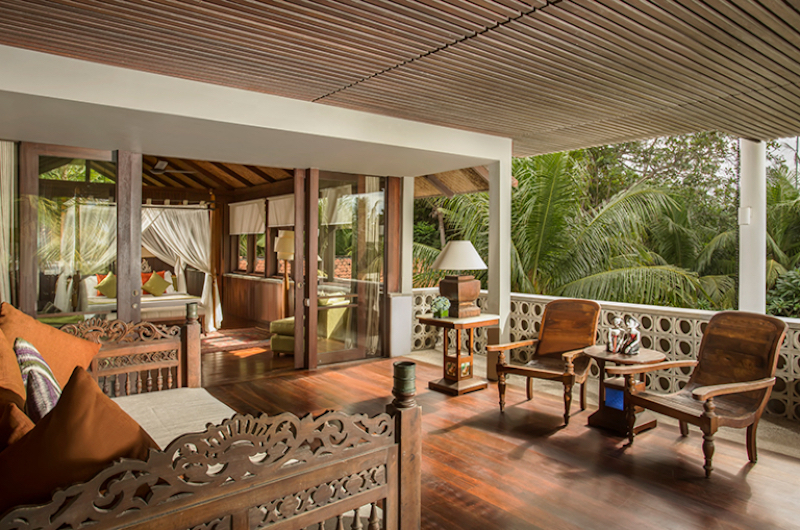 Balcony View - Jeeva Saba Estate - Gianyar, Bali