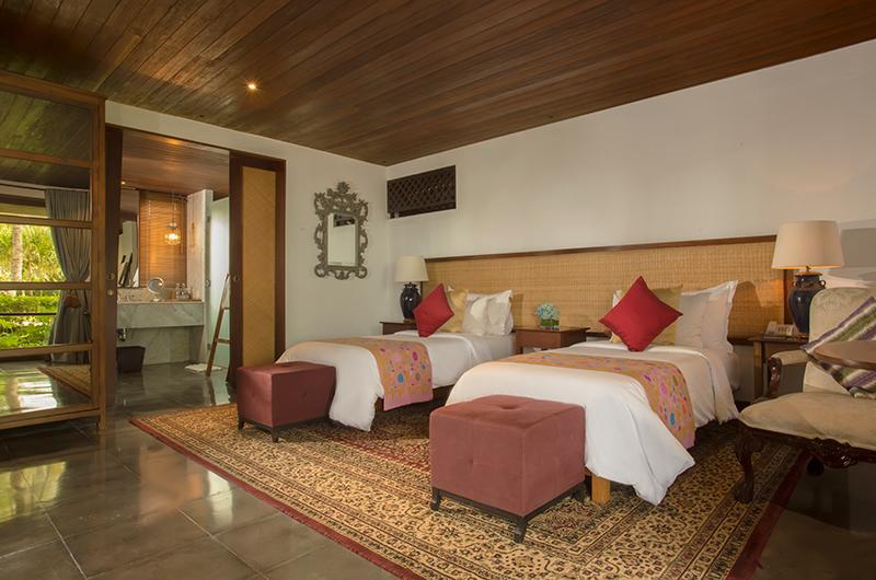 Twin Bedroom - Jeeva Saba Estate - Gianyar, Bali