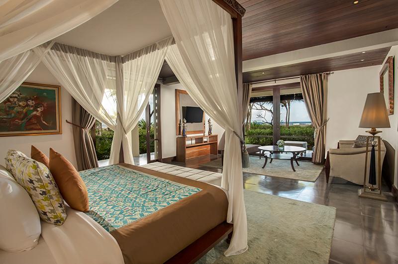 Bedroom with Sofa and TV - Jeeva Saba Estate - Gianyar, Bali