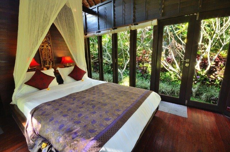 Bedroom with Wooden Floor - Jendela Di Bali - Gianyar, Bali