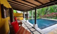 Pool Side - Jendela Di Bali - Gianyar, Bali
