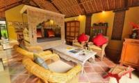 Indoor Living Area - Jendela Di Bali - Gianyar, Bali