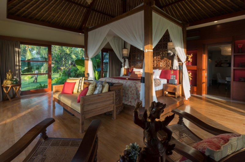 Bedroom with Wooden Floor - Kaba Kaba Estate - Tabanan, Bali