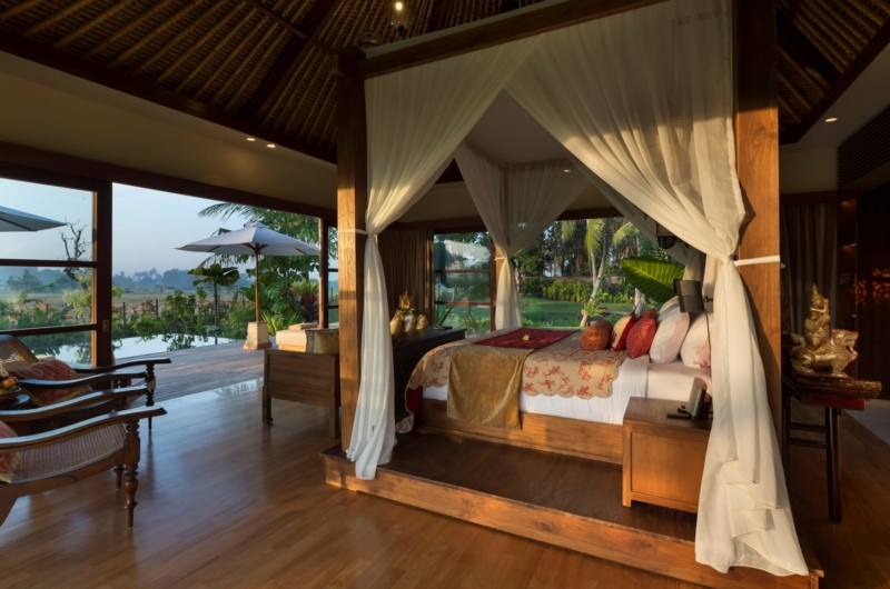 Bedroom with Pool View - Kaba Kaba Estate - Tabanan, Bali