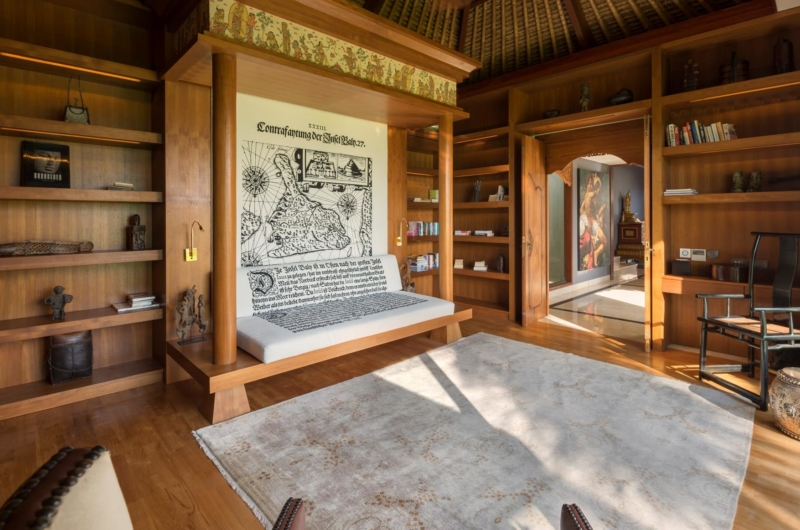 Indoor Seating Area - Kaba Kaba Estate - Tabanan, Bali