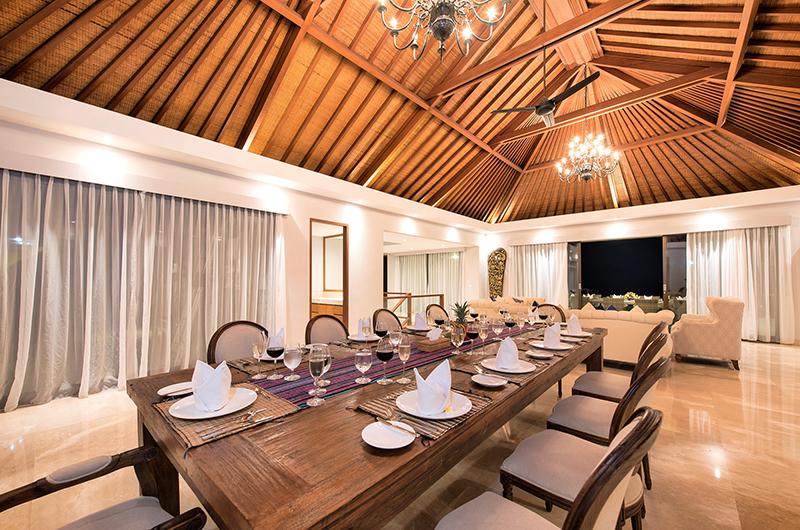 Dining Area - Karang Saujana Estate Villa Baleagung - Ungasan, Bali