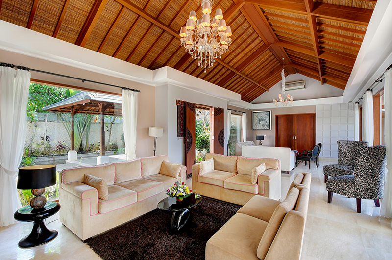 Living Area - Karang Saujana Estate Villa Saujana - Ungasan, Bali