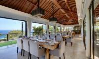 Dining Area - Karang Saujana Estate Villa Saujana - Ungasan, Bali