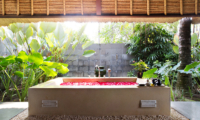 Romantic Bathtub Set Up - Kayumanis Jimbaran - Jimbaran, Bali
