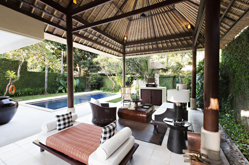 Living Area with Pool View - Kayumanis Sanur - Sanur, Bali