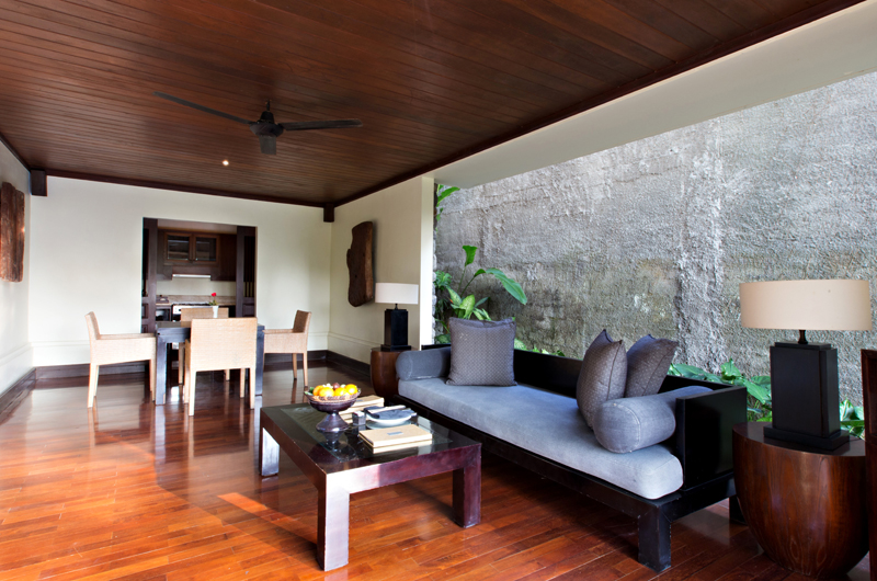 Living and Dining Area - Kayumanis Ubud - Ubud, Bali