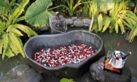 Outdoor Bathtub - Kemala Villa - Canggu, Bali