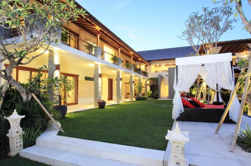 Pool Side Loungers - Kemala Villa - Canggu, Bali