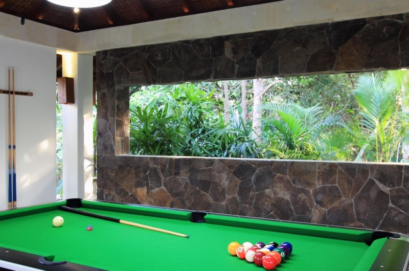 Billiard Table - Kemala Villa - Canggu, Bali