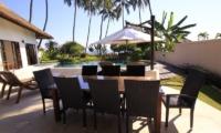 Outdoor Dining - Kembali Villa - North Bali, Bali