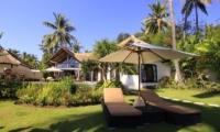 Reclining Sun Loungers - Kembali Villa - North Bali, Bali