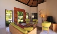 Living Area with TV - Kembali Villa - North Bali, Bali