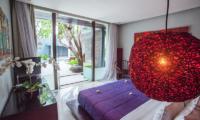 Bedroom with Pool View - Kembali Villas - Seminyak, Bali