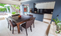 Kitchen and Dining Area - Kembali Villas - Seminyak, Bali