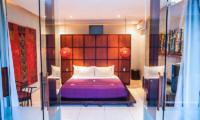 Bedroom with Lamps - Kembali Villas - Seminyak, Bali