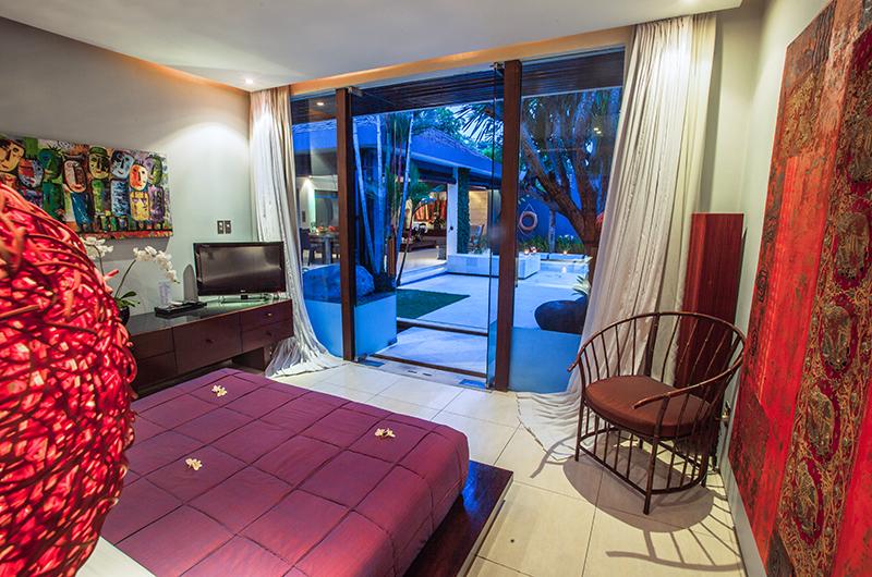 Bedroom with Garden View - Kembali Villas - Seminyak, Bali