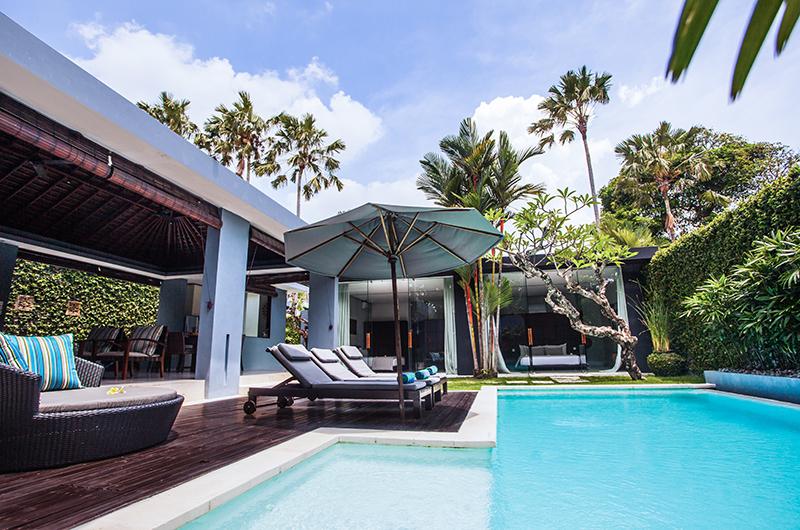 Reclining Sun Loungers - Kembali Villas - Seminyak, Bali