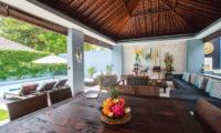 Dining Area - Kembali Villas - Seminyak, Bali