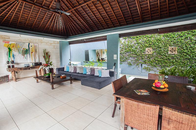 Living and Dining Area - Kembali Villas - Seminyak, Bali