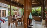 Living and Dining Area - Lakshmi Villas - Seminyak, Bali