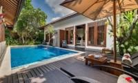 Pool Side Loungers - Lakshmi Villas - Seminyak, Bali