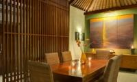 Dining Area - Lakshmi Villas - Seminyak, Bali