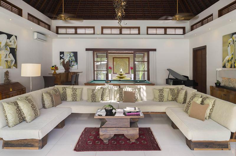 Living Area - Lataliana Villa One - Seminyak, Bali
